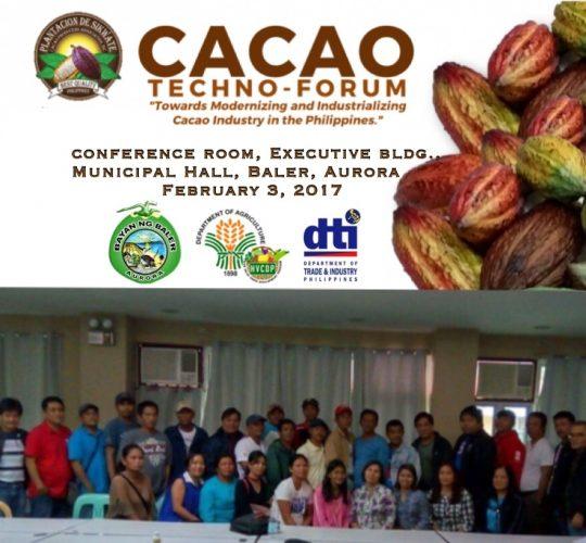 Baler Cacao Techno-Forum