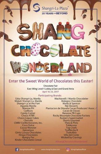 Shang Chocolate Wonderland: Day 5
