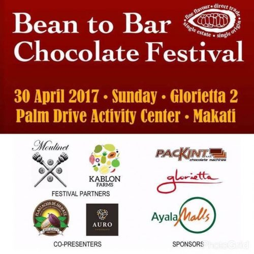 Bean to Bar Chocolate Festival (PDS as presenter)