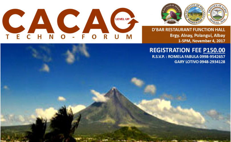 Albay Cacao Level Up Techno-Forum
