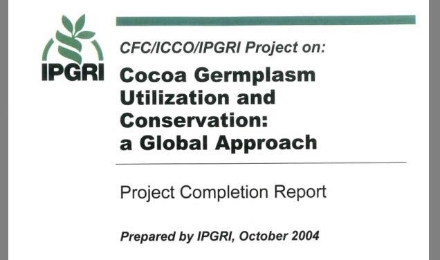 Cocoa Germplasm Utilization And Conservation (2004)