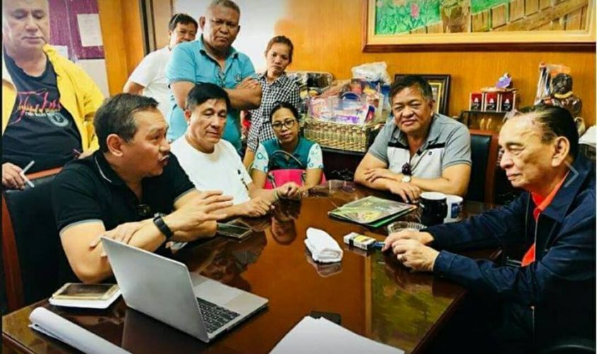 PDS Courtesy Call to Zambales Governor